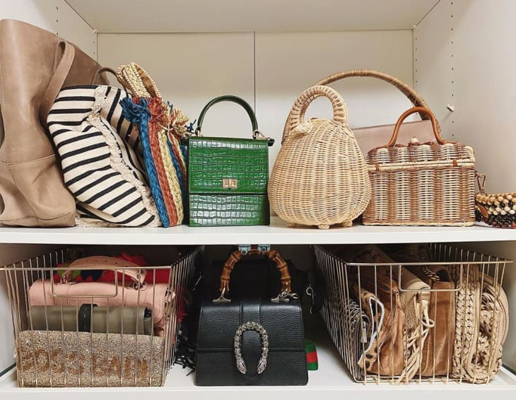 Clever ideas for the perfect organization of bags